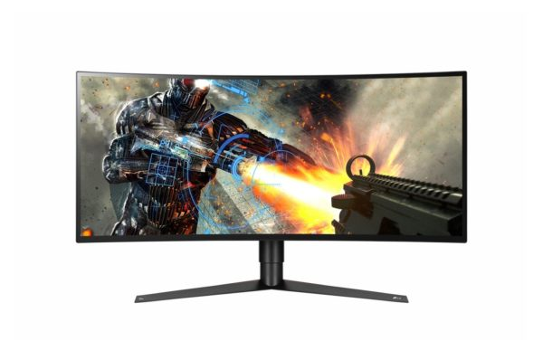 "MONITOR LG 34″, gaming, IPS, UWQHD, 3440 x 1440 120 Hz Ultra Wide | curbat, 400 cd/mp, 5 ms | 1 ms, HDMI | DisplayPort, , 3.5 mm Jack | USB 3.0 x 2 ""34GK950G-B.AE""U"