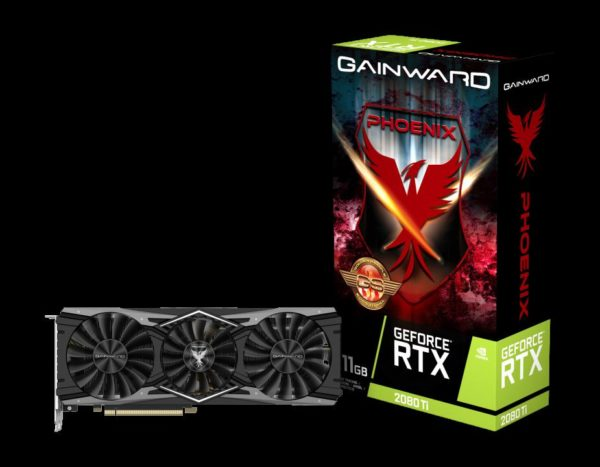 "Placa video Gainward GEFORCE RTX 2080Ti PHOENIX GS, RTX 2080Ti, PCI Express 3.0 x 16, 11GB GDDR6 memory, 352 bit, Clock Speed: 1650 MHz, ""426018336-4122"""