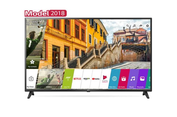 "Televizor LG 60UK6200PLA, LCD, 60″, 4K UHD 3840×2160, IPS, 4K Active HDR, HDR10 Pro, Procesor Quad Core, boxe 20W, Down Firing, Ultra Surround, Clear Voice III, webOS Smart TV, aplicatie LG TV Plus, Bluetooth, Wi-fi ""60UK6200PLA"""