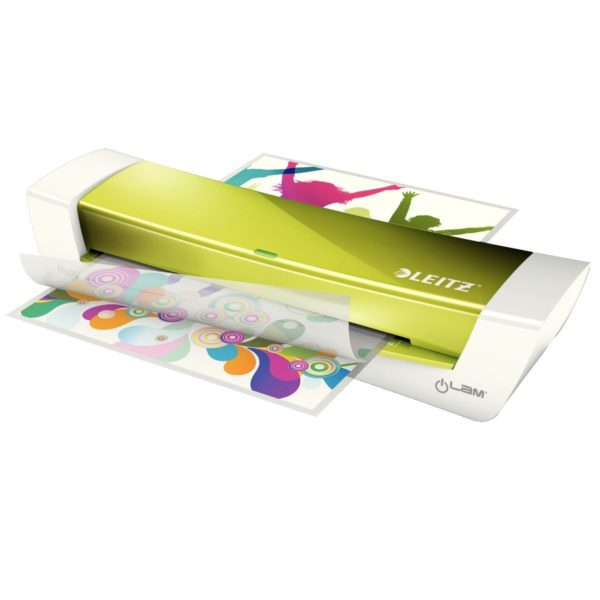 "Laminator Leitz iLAM A4 Home Office, verde, ""73680064"""