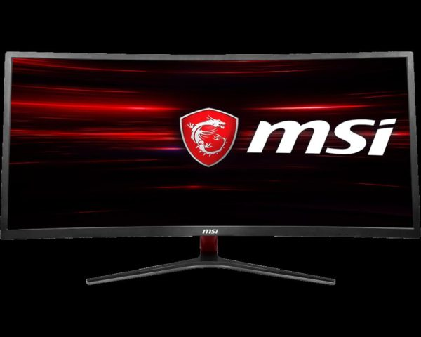"MONITOR MSI 34″, gaming, VA, UWQHD, 3440 x 1440 100 Hz Ultra Wide | curbat, 250 cd/mp, 4 ms, DVI | HDMI | DisplayPort, ""9S6-3MA01H-001"""