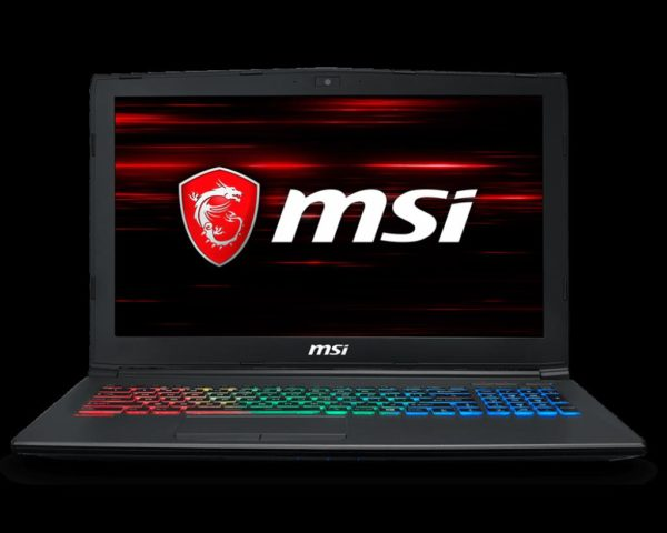 "Laptop MSI GF62 8RD-248XRO, 15.6″ FHD (1920*1080), Intel Core i5-8300H, video nVidia GeForce GTX 1050 Ti 4GB GDDR5, RAM 8GB DDR4 2666MHz (1x8GB), 2 slots, up to 32GB, SSD 128GB + 1TB (SATA) 7mm, NO ODD, DOS ""9S7-16JF22-248"""
