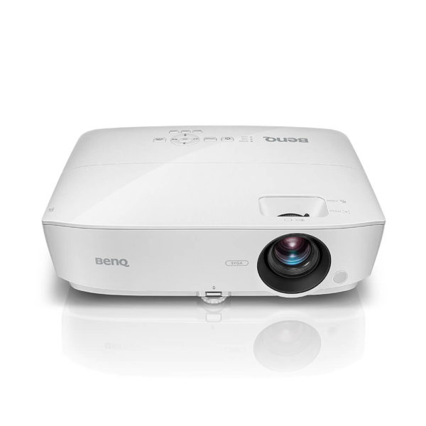 """Proiector BENQ MS535, DLP, SVGA 800*600, 3600 lm, 15.000:1, Native 4:3, (5 aspect ratio selectable), SmartEco 15.000 hours, 5.000 ore normal, speaker 2W, D-sub, RCA, HDMI, USB Type Mini B, audio in/ out, RS232, """"9H.JJW77.33E"""""""