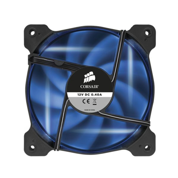 "Cooler carcasa Corsair AF120 LED Blue Quiet Edition High Airflow, 120x25mm, 3pin, Twin Pack ""CO-9050016-BLED"""