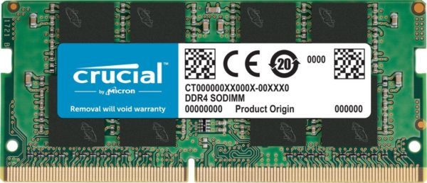 """Memory type DDR4, 8GB, 2400 MHz, CL 17, Nominal voltage 1.2 V, Chip Organization 1024Mx64 """"CT8G4SFD824A"""""""