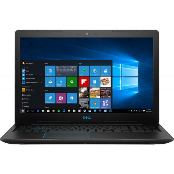 "Dell G3 15 (3579), 15.6-inch FHD(1920×1080), Intel Core i5-8300H, 8GB(1x8GB) DDR4 2666MHz, 256GB SSD, noDVD, Nvidia GTX 1050 4GB, Wifi 802.11ac, BT, FGPR(only for 1050/1050Ti), Backlit Keybd, 4-cell 56WHr, Win 10 Home ""DG33579I58300H8G256G4GW3YR-05"""