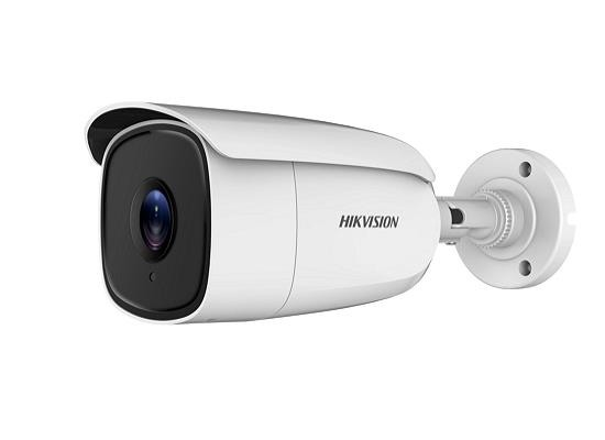 "Camera de supraveghere Hikvision Turbo HD Bullet, DS-2CE18U8T-IT3 (2.8mm); Fixed lens: 2.8mm; 8.3MP; EXIR, 60m IR, ICR, 0.003 Lux/F1.2, 12 VDC, Smart IR, True WDR, 3D DNR, OSD Menu (Up the Coax), TVI and CVBS Output, IP67. ""DS-2CE18U8T-IT32.8"""