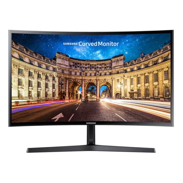 "MONITOR SAMSUNG 23.5″, gaming, VA, Full HD, 1920 x 1080 60 Hz Wide | curbat, 250 cd/mp, 4 ms, VGA | HDMI, 3.5 mm Jack ""LC24F396FHUXEN"""