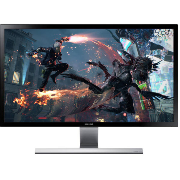 "MONITOR SAMSUNG 28″, gaming, TN, 4K UHD, 3840 x 2160 60 Hz Wide, 370 cd/mp, 1 ms, HDMI x 2 | DisplayPort, 3.5 mm Jack ""LU28E590DS/EN"""