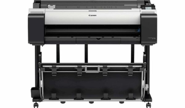 "Plotter Canon imagePROGRAF TM-305 36″(914mm), format A0, 5 culori, rezolutie max 2400x1200dpi, memorie 2GB, HDD 500GB, limbaje de imprimare: SG Raster(Swift Graphic Raster), HP-GL/2, HP RTL, JPEG (Ver. JFIF 1.02), display LCD ""3056C003AA"""