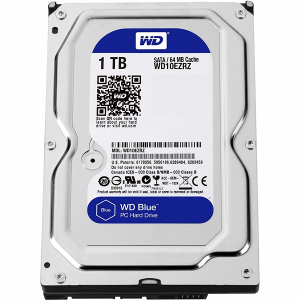 "Blue, 1TB, SATA 3.0, Buffer 64 MB, 5400 rpm, 3,5″ ""WD10EZRZ"""