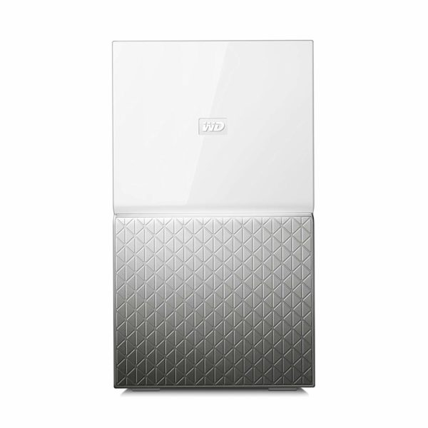 """NAS Ready-to-go, Drives/bays 2, Desktop/pedestal, HDD Capacity 6TB, Included Accessories Ethernet cable,AC adapter,Quick Install Guide """"WDBMUT0060JWT-EESN"""""""
