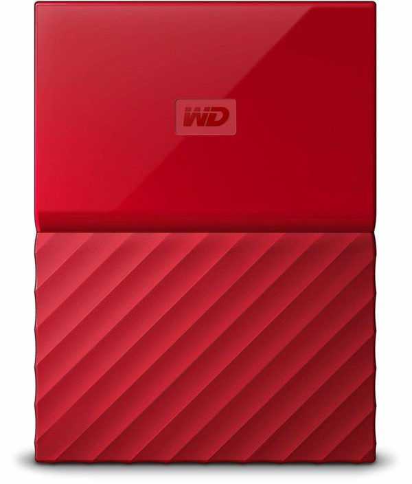 """My Passport, 2TB, USB 3.0, 2,5″, Included Accessories USB 3.0 cable;WD Backup, WD Securityand WD Drive Utilities software; Quick install guide, Colour Red, Dimensions 13.8×81.5x110mm """"WDBS4B0020BRD-WESN"""""""