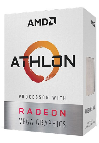 "CPU AMD skt AM4 Athlon 200GE 2C/4T 3.20, 5MB cache, 35W, BOX ""YD200GC6FBBOX"""