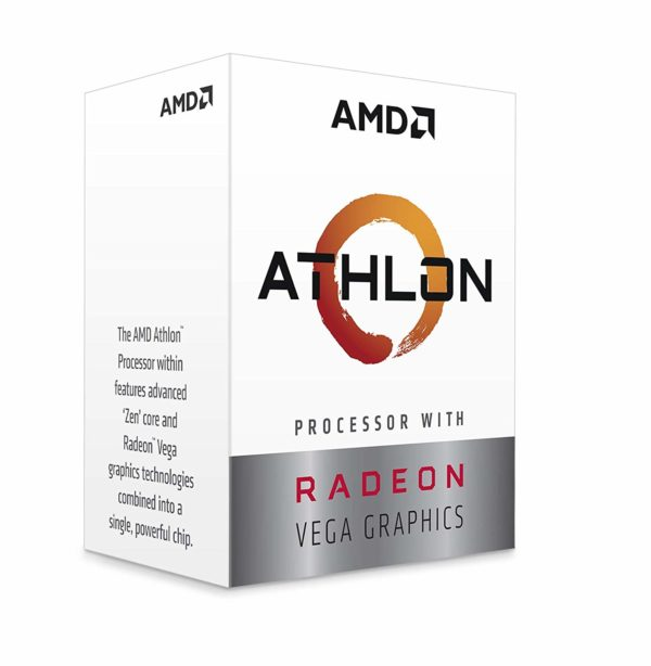 "AMD Athlon 220GE (AM4) Processor (PIB) with Radeon Vega Graphics ""YD220GC6FBBOX"""