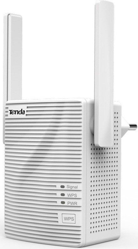 "RANGE EXTENDER TENDA wireless 750Mbps, 1 port 10/100Mbps, 2 antene externe, dual band AC750, 2.4GHz & 5GHz, ""A15"""