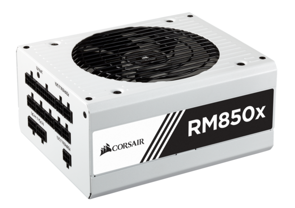 "Sursa Corsair RMx Series RM850x, 850W, full-modulara, 80 Plus Gold, Eff. 90%, Active PFC, ATX12V v2.4, 1x135mm fan, retail, White Series ""CP-9020156-EU"""