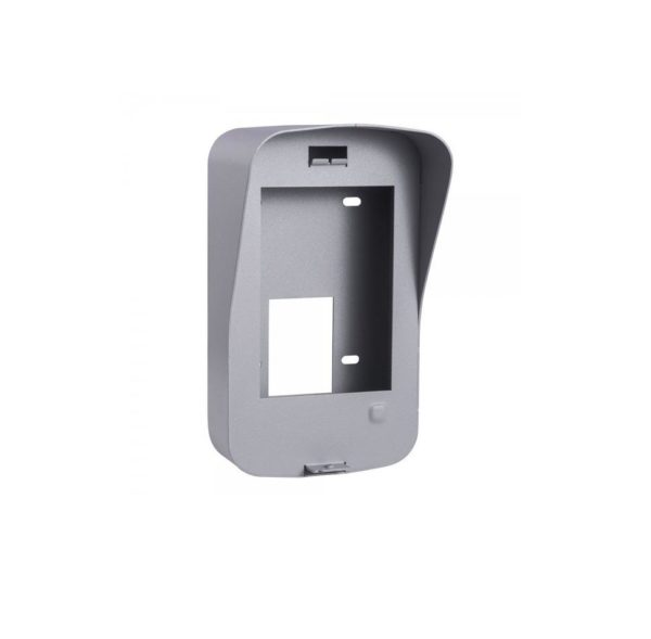 """Protective Shield Hikvision, DS-KAB03-V; Stainless steel material; Convenient design available for the wall mounting of the door station (DS-KV8102-IP/VP); No insulation. """"DS-KAB03-V"""""""