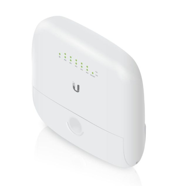 "Ubiquiti EdgePoint EP-R6 Layer-3 router, 5x Gigabit LAN; 1x SFP Port, PoE Output, WISP Control Point ""EP-R6"""