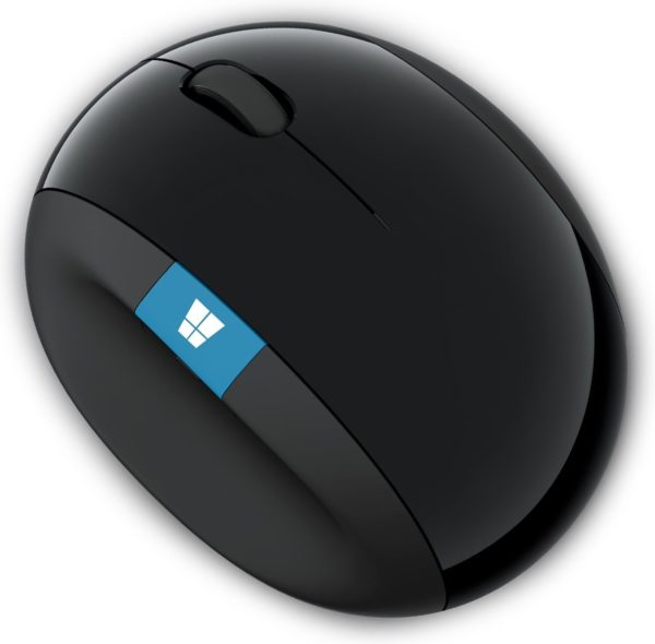 "Mouse Microsoft Wireless Sculpt Ergonomic negru ""L6V-00005"""