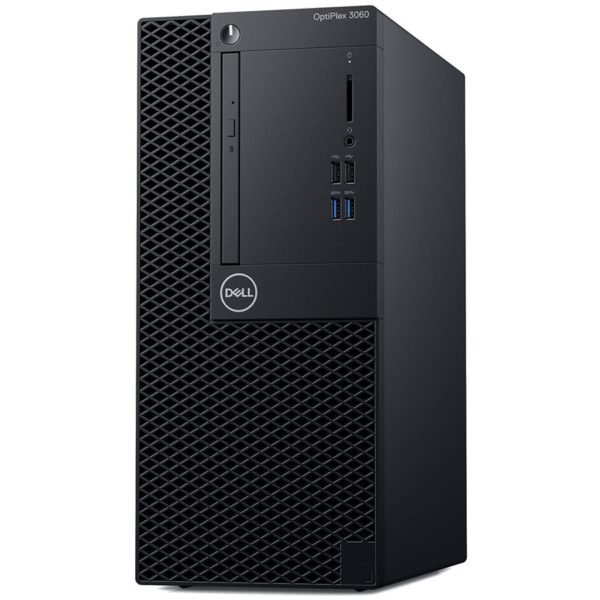 "Dell Optiplex 3060 MT, Intel Core i3-8100, 4GB(1x4GB) DDR4 2666MHz, 1TB 7200rpm SATA, Intel Graphics, DVD+/-RW, Dell USB Optical Mouse, KB216 Keybd, Win 10Pro(64bit), 3Yr NBD ""N052O3060MT_WIN10P-05"""
