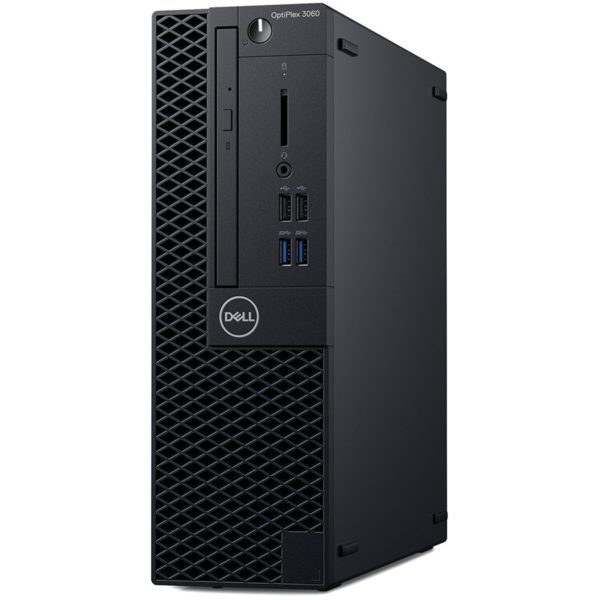 "Dell Optiplex 3060 SFF, Intel Core i3-8100, 8GB(1x8GB) DDR4 2666MHz, 256GB(M.2)SSD, Intel Graphics, DVD+/-RW, Dell USB Optical Mouse, KB216 Keybd, Ubuntu, 3Yr NBD ""N054O3060SFF_UBU-05"""