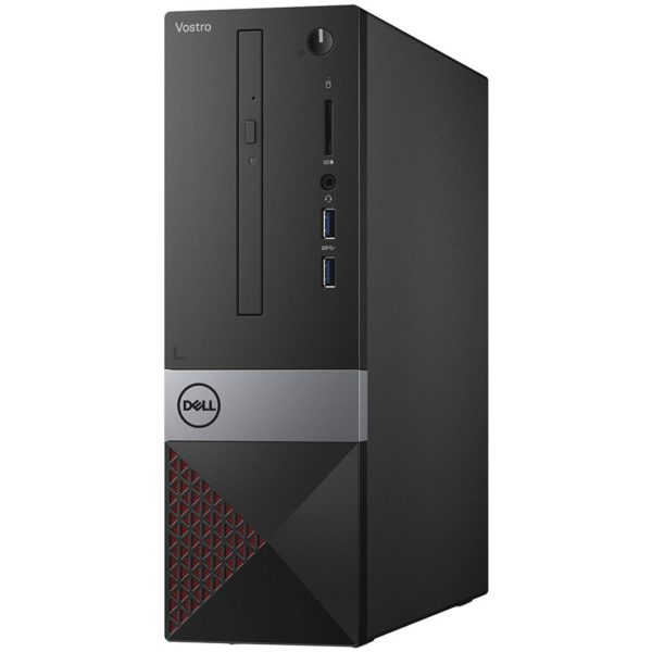 "Dell Vostro Desktop 3470 SFF, Intel Core i3-8100, 4GB(1x4GB) DDR4 2400MHz, 128GB(M.2) SATA, Intel Graphics, DVD+/-RW, WiFi 802.11bgn, BT 4.0, Dell MS116 USB Mouse, Dell KB216 US Keybd, Ubuntu, 3Yr NBD ""N203VD3470BTPEDB03_1901_UBU_3YR-05"""
