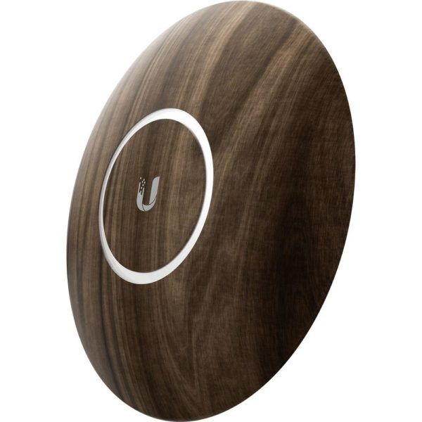 "CARCASA UBIQUITI, pt. nanoHD, upgradabila, design lemn, 3 pack, ""NHD-COVER-WOOD-3"""