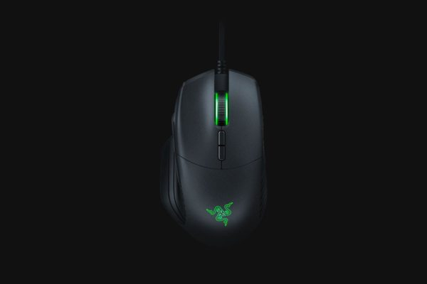 "Mouse Razer cu fir,BASILISK,5G optical sensor, Ergonomic right-handed design with enhanced rubber side grips, 16,000 dpi, 1000 Hz Ultrapolling, Up to 450 inches per second (IPS) ""RZ01-02330100-R3G1"""