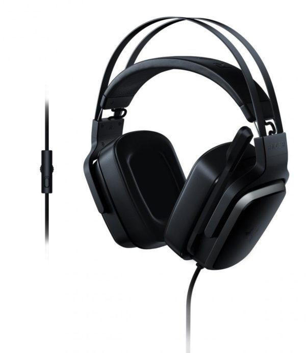 "Casti cu microfon gaming Razer Tiamat 2.2, Frequency response: 20 Hz – 20kHz, Sensitivity @ 1 kHz: -38 dB xxxx 3 dB, Signal-to-Noise Ratio: >58 dB, ""RZ04-02080100-R3M1"""