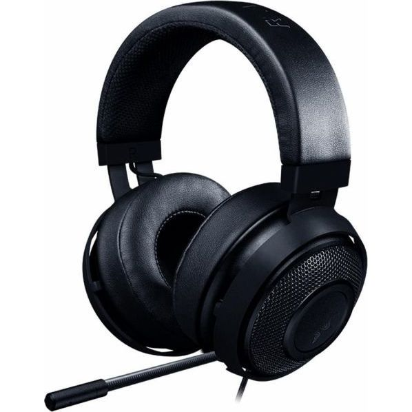 "Casti cu microfon Razer Kraken, Frequency response: 12 Hz # 28 kHz, Sensitivity (@1 kHz): 109 dB, Input power: 30 mW, Inner ear cup diameter: 54 mm x 65 mm, ""RZ04-02830100-R3M1"""
