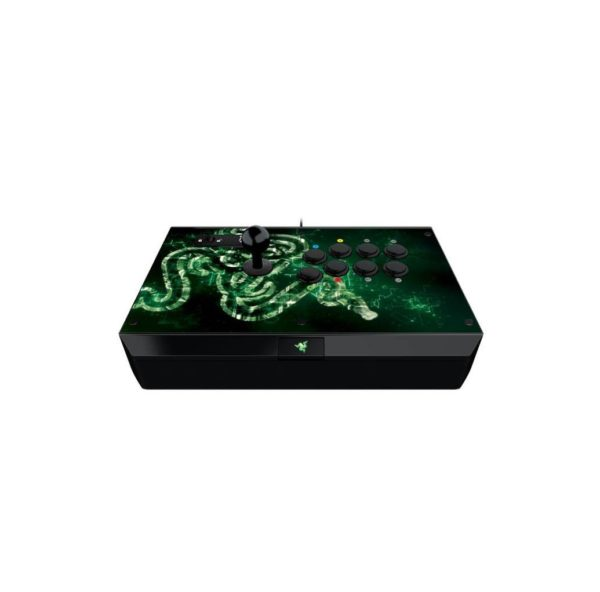 "Controller Razer Atrox Arcade stick for Xbox one, 8 tournament-grade Sanwa buttons, Authentic Sanwa joystick with ball top and additional bat top, ""RZ06-01150100-R3M1"""