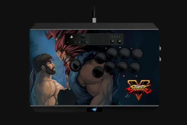 "Gaming Controller Razer Panthera Street Fighter V Edition for playstation 4, 10 tournament-grade Sanwa buttons, Authentic Sanwa joystick with ball top and additional bat top, ""RZ06-01690200-R3G1"""