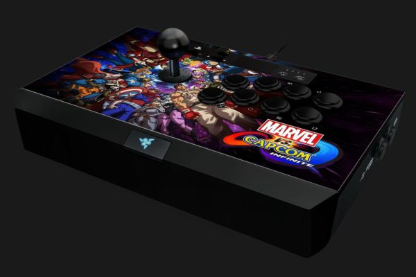 "Gaming Controller Razer Panthera Marvel vs Capcom Arcade Stick for PS4, 10 tournament-grade Sanwa buttons, Authentic Sanwa joystick with ball top, ""RZ06-01690300-R3G1"""