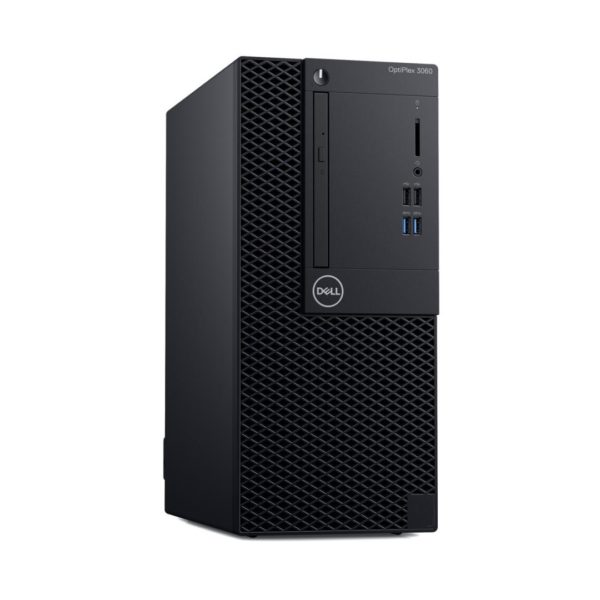 "Desktop Dell OptiPlex 3060 MT, Intel Core i5-8500 (9M Cache, up to 4.10 GHz), Intel Integrated Graphics, 8GB (1x8GB) 2666MHz DDR4, 1TB SATA (7.2k rpm) 3.5″, 8x DVD+/-RW 9.5mm Optical Disk Drive, Ubuntu Linux ""S021O3060MTUCEE"""
