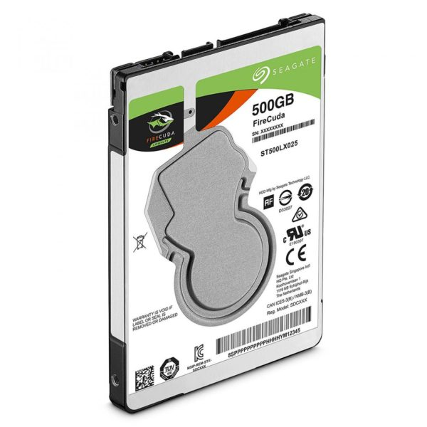 "SSHD Notebook SEAGATE 2.5″ 500GB 5400rpm 128M SATA3 ""ST500LX025"""