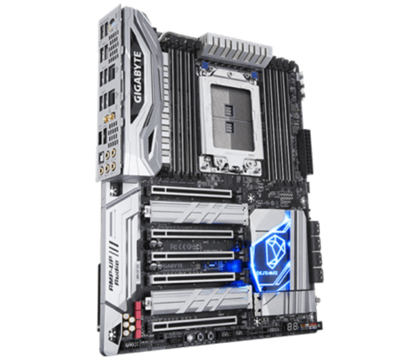 "Placa de baza Gigabyte X399 DESIGNARE EX, AMD X399, 8 x DDR4 DIMM sockets supporting up to 128 GB of system memory, Support for DDR4 2667/ 2400/ 2133 MHz , ATX. ""X399 DESIGNARE EX"""