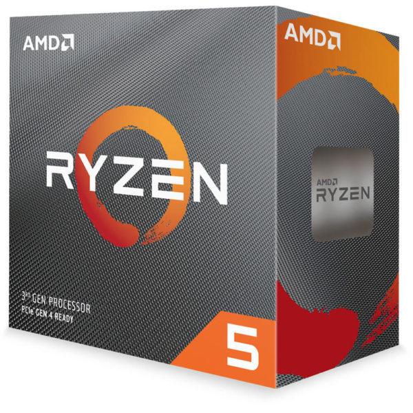 "CPU AMD, skt AM4, Ryzen 5, 3.8GHz, (Turbo 4.4GHz), 6Core, cooler, ""100-100000022BOX"""