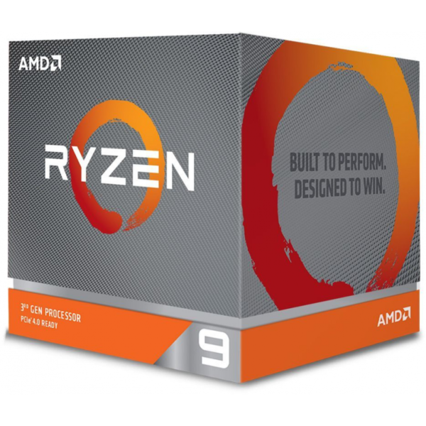 "CPU AMD, skt AM4, Ryzen 9, 3.8GHz, (Turbo 4.6GHz), 12Core, cooler, ""100-100000023BOX"""