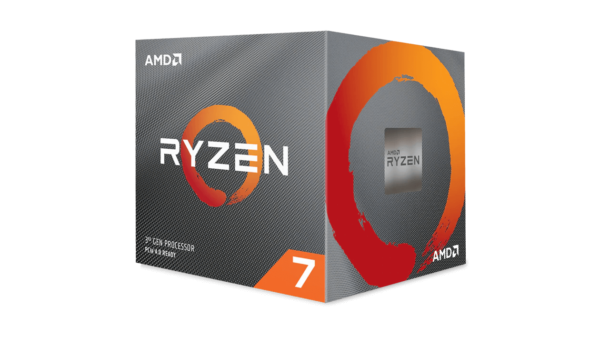 "CPU AMD, skt AM4, Ryzen 7, 3.9GHz, (Turbo 4.5GHz), 8Core, cooler, ""100-100000025BOX"""