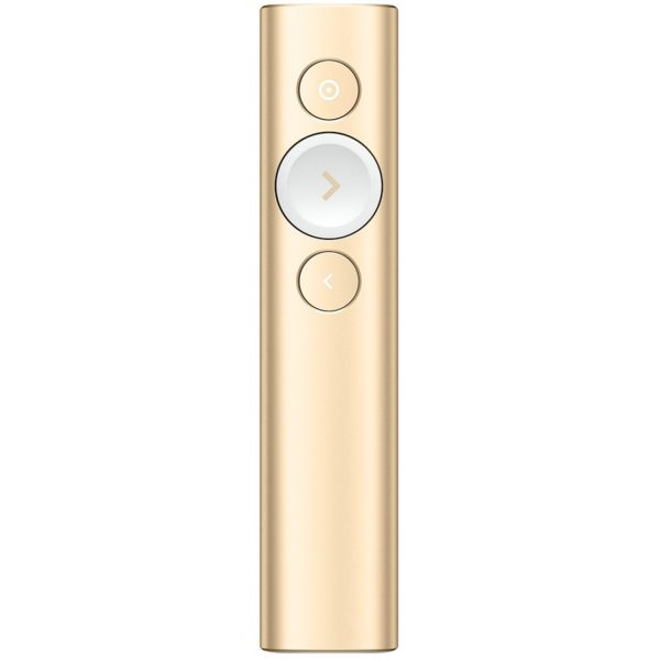 "LOGITECH BT/WL Presenter SPOTLIGHT – EMEA – GOLD ""910-004862"""