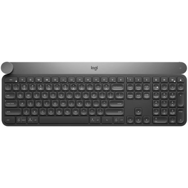 "LOGITECH Wireless Keyboard CRAFT with creative input dial – BT – INTNL – US International layout ""920-008504"""