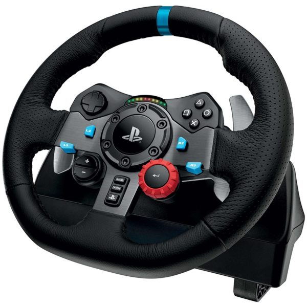 "LOGITECH Driving Force G29 Racing Wheel – PC and Playstation 3-4 – EMEA ""941-000112"""