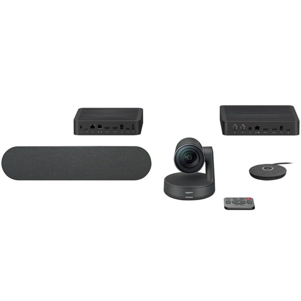 "LOGITECH Rally Ultra-HD ConferenceCam – BLACK – USB – PLUGC – EMEA – EU ""960-001218"""