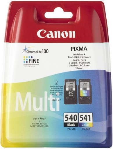 """Combo-Pack Original Canon Black/Color, PG-40/CL-41, pentru Pixma IP1200