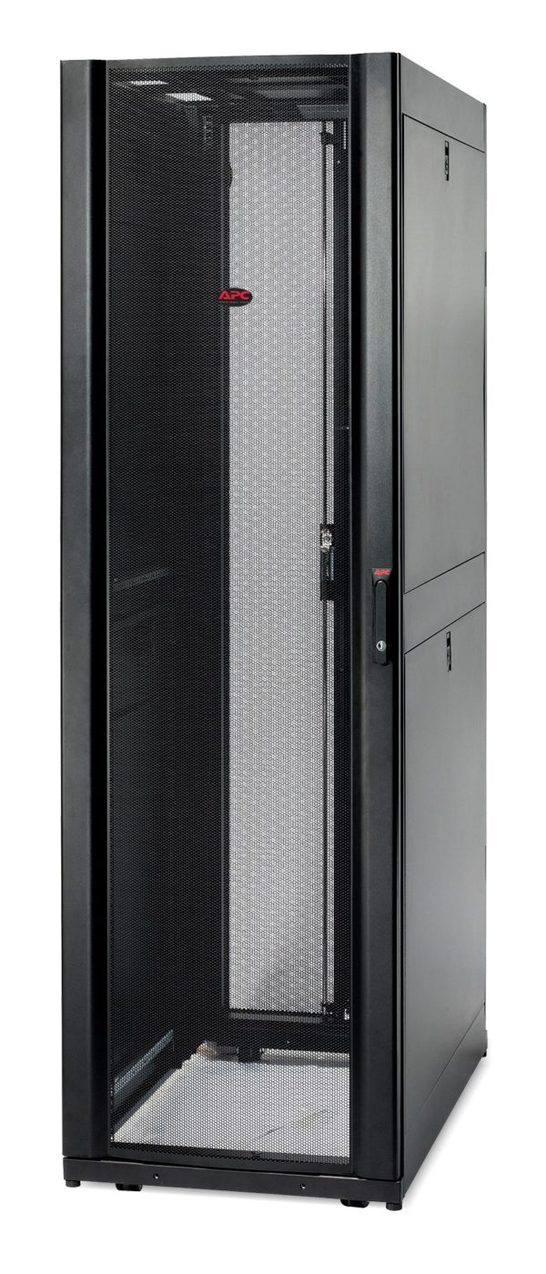 """NetShelter SX 42U 600mm Wide x 1070mm Deep Enclosure Without Sides Grey RAL7035 """"AR3100"""""""