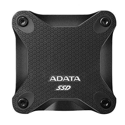 "SSD Extern ADATA SD600Q, 2.5″, 240Gb, USB 3.2, R/W up to 440 MB/s, black ""ASD600Q-240GU31-CBK"""
