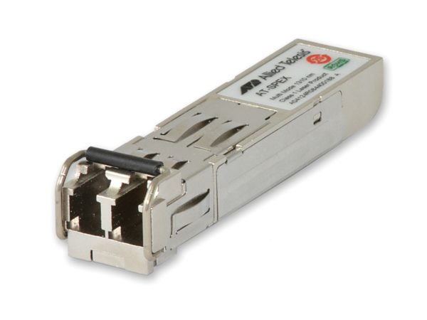 "Modul Allied Telesis transceiver SFP 1 port LC multi-mode 1310nm, 2km, hot-swap, 5 ani garantie prin inregistrare on-line ""AT-SPEX"""