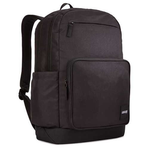 "RUCSAC scolar CASE LOGIC, pt. notebook de max. 15.6″, 2 compartimente, buzunar frontal x 2, buzunar lateral x 2, waterproof, volum 29 litri, poliester, negru, ""Query"", ""CCAM-4116 BLACK"" / 3203870"