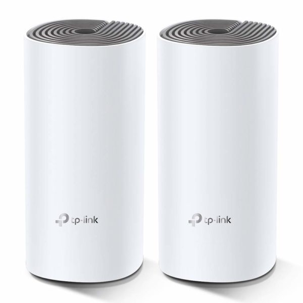 "MESH TP-LINK Sistem wireless Complete Coverage – router AC1200 Whole-Home ""Deco E4(2-pack)"""